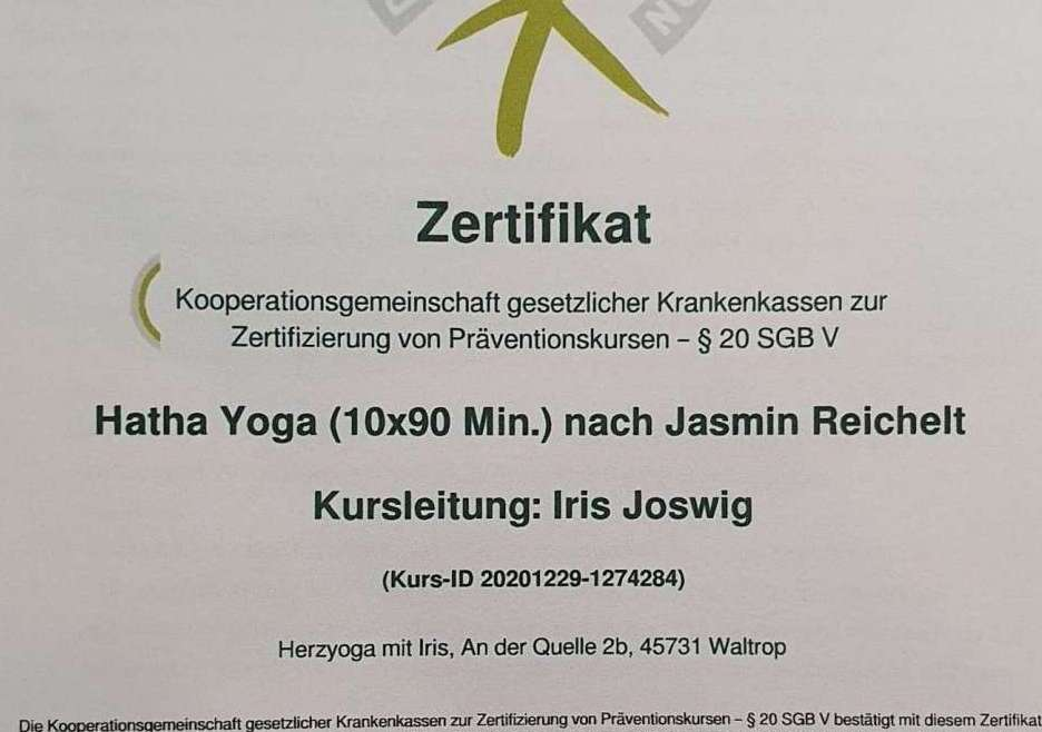 Krankenkassen-zertifizierter Online-Kurs